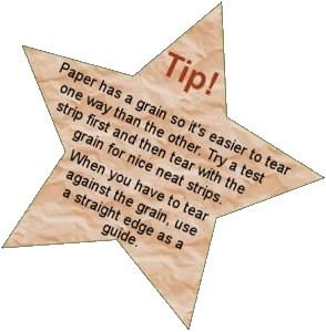 Paper mache tip