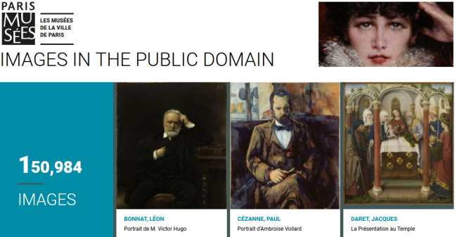 Paris Museums release images free for public use