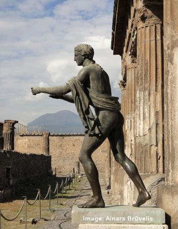 Pompeii panorama