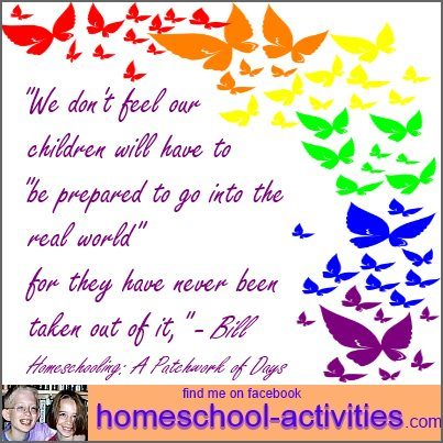 homeschooling and the 'real world.'