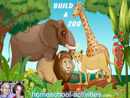 build a Zoo preschool activity