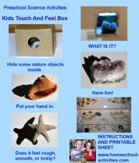 kids touch and feel box