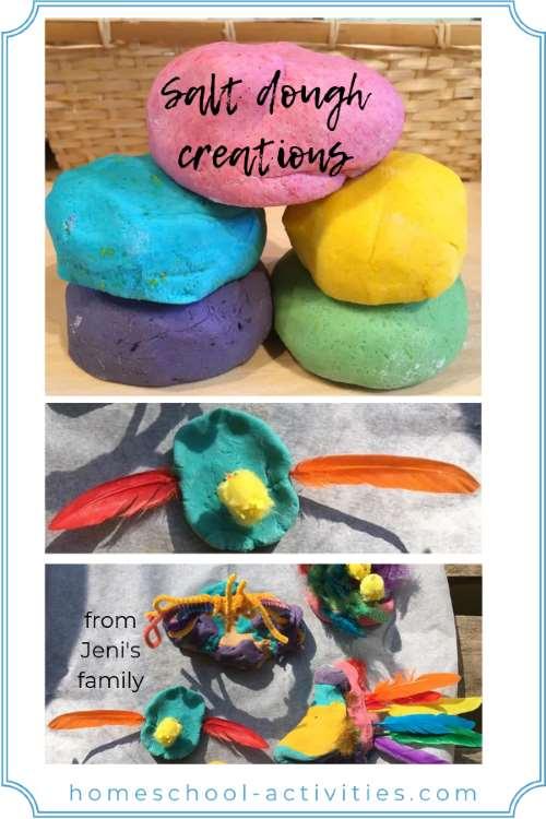 salt dough creations