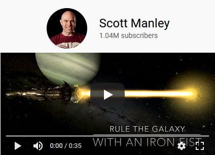 Scott Manley space news on YouTube