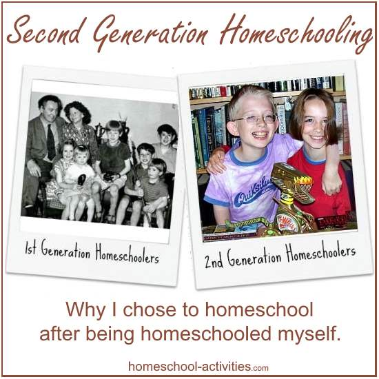 second generation homeschooling