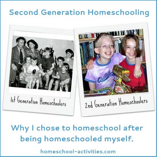 second generation homeschooling