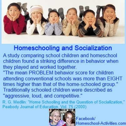 homeschooling and socialization study