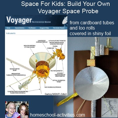 space for kids make a voyager space probe