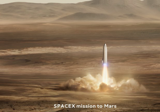 SpaceX Mission to Mars