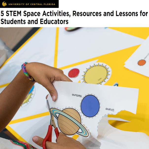 STEM Space activities for kids