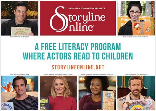 Storyline Online free literacy resource