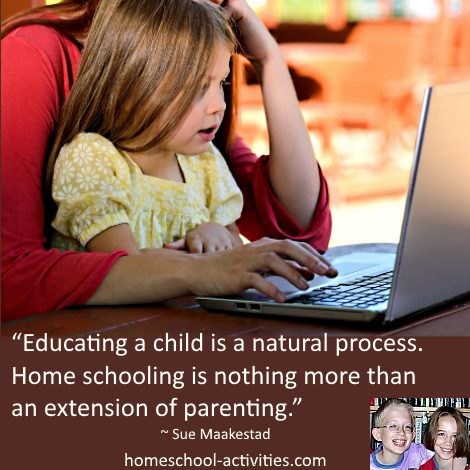 homeschooling an extension of parenting
