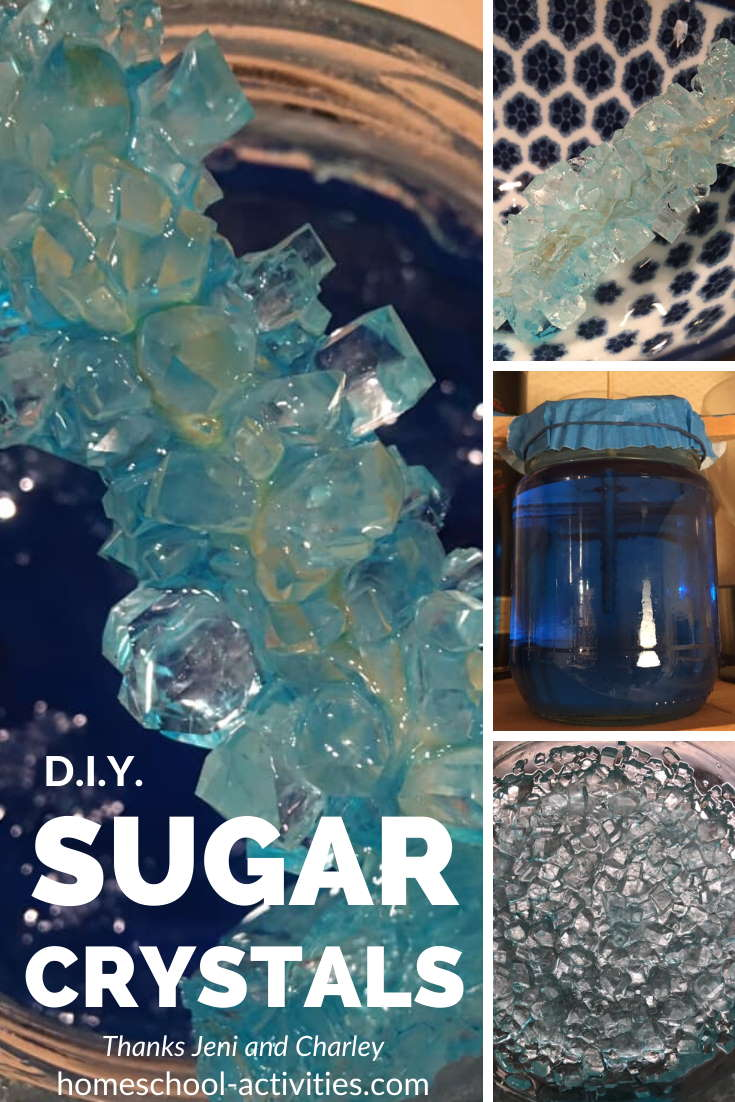 do it yourself sugar crystals