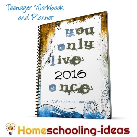 homeschool teen planner