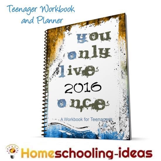 homeschool teen planner