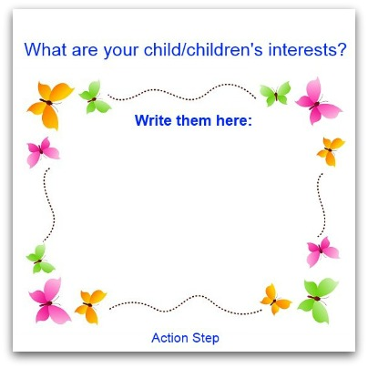 what are your children's interests?
