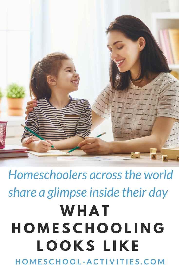What homeschooling is like