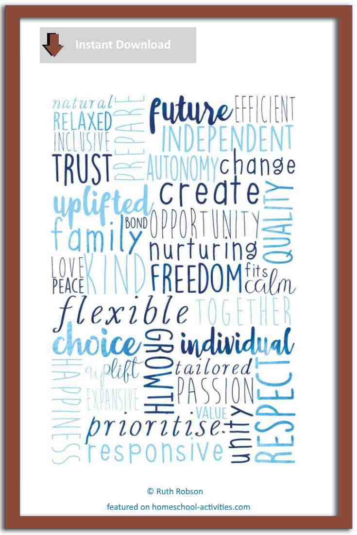 Courageous homeschooling poster