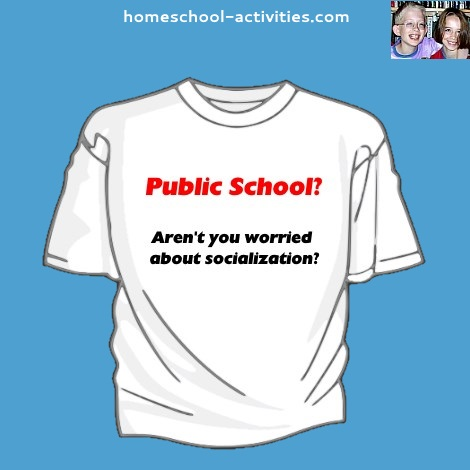 public school socialization joke